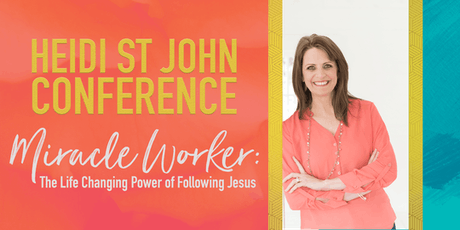 Heidi St John Conference | Fredericksburg, VA tickets