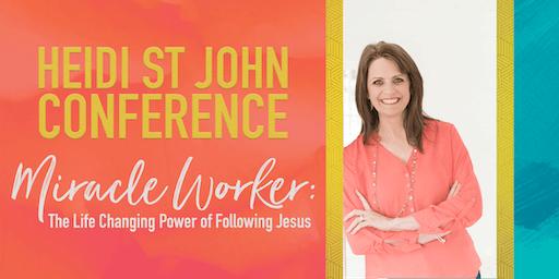 Heidi St John Conference | Fredericksburg, VA