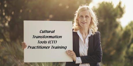 Cultural Transformation Tools (CTT) Practitioner Tickets