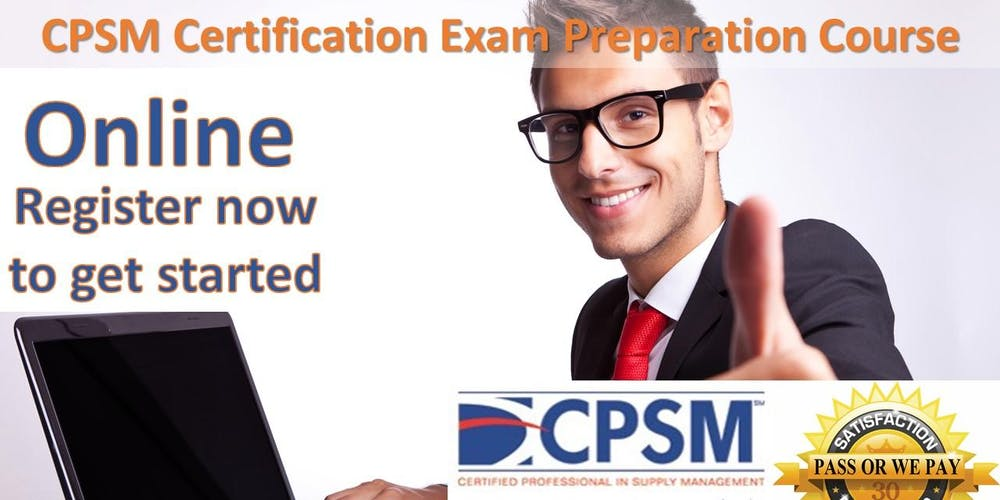 Procurement Certification Training Cpsm Boot Camp Online Tickets