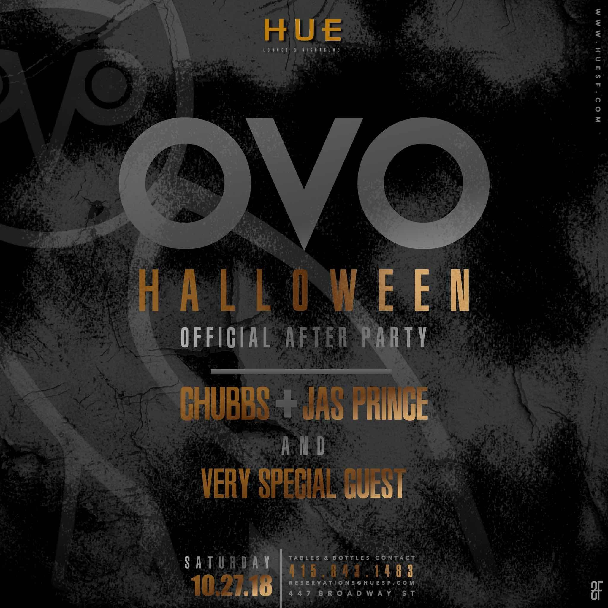 Haunted Party Bus to OVO party(Hue SF) and Af