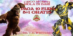 Il Circo M.Orfei a MOLA DI BARI A 10 euro