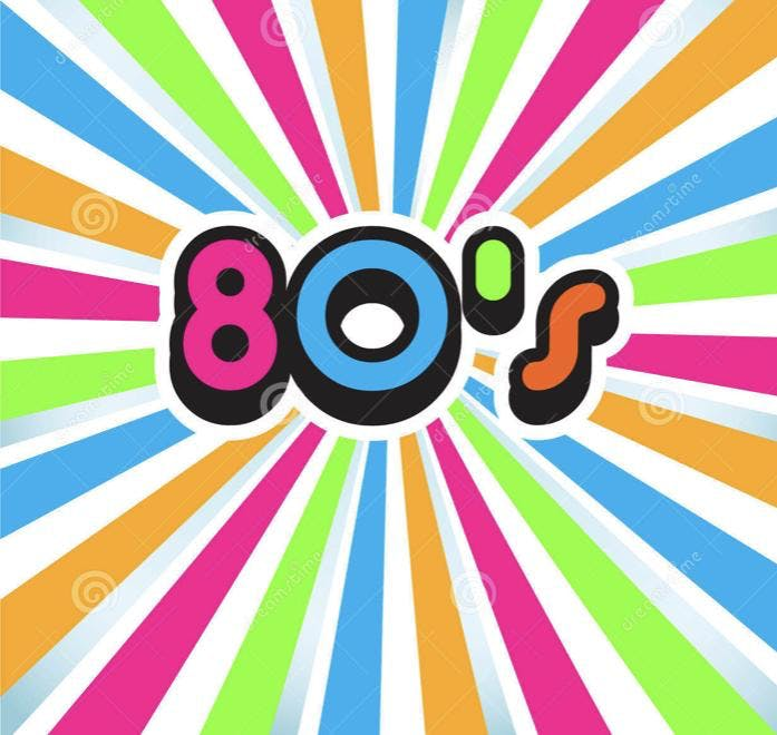 Back to the 80's Fundraiser Party