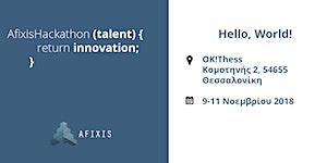 Afixis Hackathon