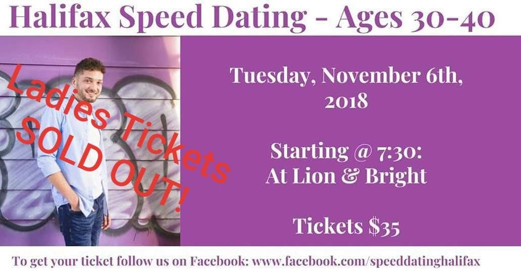 speed dating in halifax