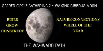 Sacred Circle 2 - Waxing Gibbous Moon