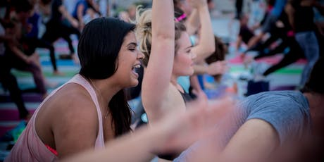 """""""it's all about U"""" Rooftop Yoga 2019 tickets"""
