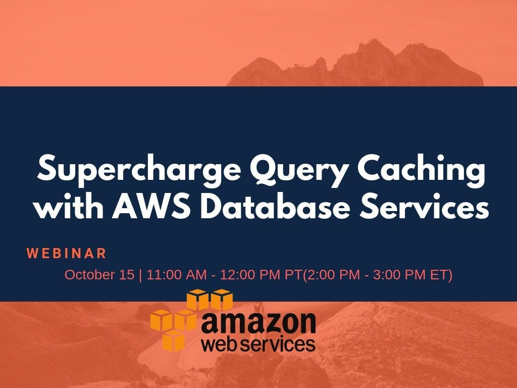 Supercharge Query Caching with AWS Database S
