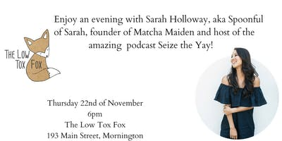 An Evening with Sarah Holloway