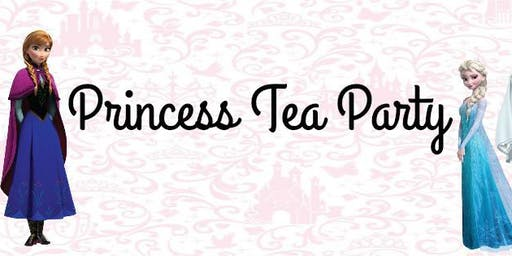 Princess Tea Party 10:00am-12:00pm