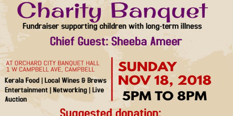 Charity Banquet with chief guest Sheeba Ameer