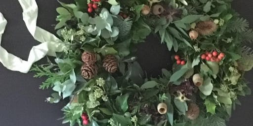 Christmas Wreath Workshop plus lunch