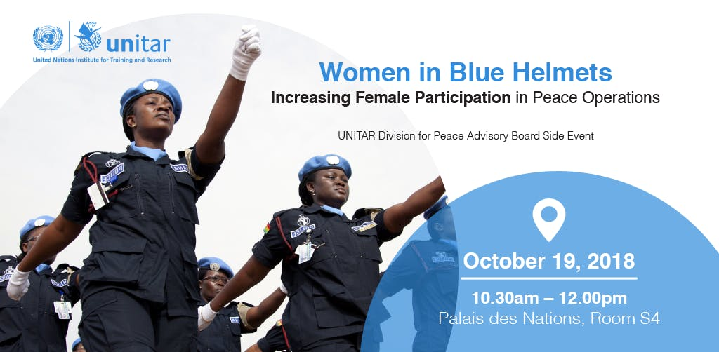 Women in Blue Helmets: Increasing Female Participation in Peace Operations