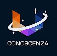 Conoscenza - Um universo de conhecimento logo