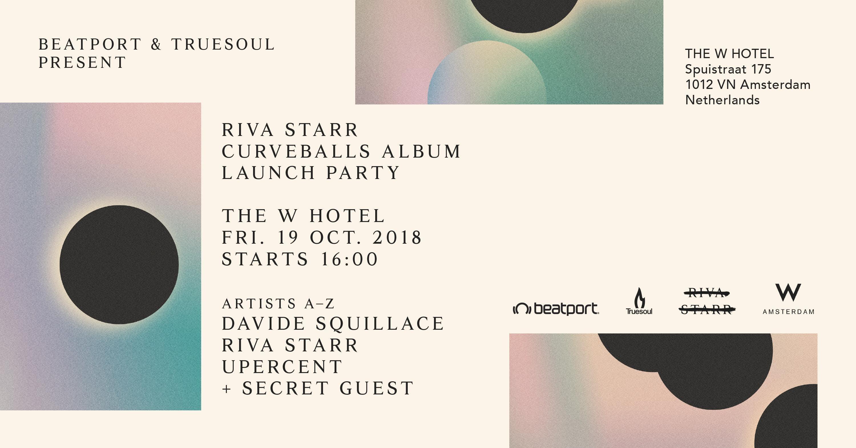 Beatport & Truesoul present: Riva Starr 'Curv