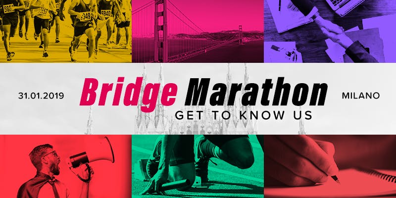 #2 Bridge Marathon - Get to know us!