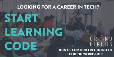 FREE Intro to Coding Workshop in Detroit