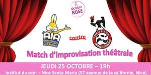 Match d'improvisation théatrâle : AIA versus Counta...