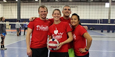 Volley Friends Coed 4v4 Indoor Volleyball Tournament