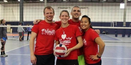 11/23 Mystery Ball Coed 4v4 Indoor Volleyball Tournament