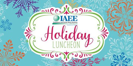 2019 IAEE SE CHAPTER ANNUAL HOLIDAY & NETWORKING LUNCHEON
