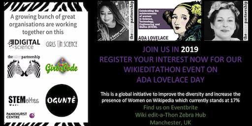 Wiki Edit-a-Thon Zebra Hub HQ 2019 - The Pankhurst Centre