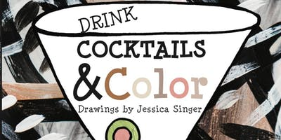 Let it Be Sip & Color - Adult Coloring Event