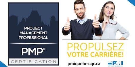 Formation - Préparation à la certification PMP® et CAPM® - Été 2019 billets