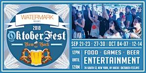 OktoberFest NYC 2018 at Watermark