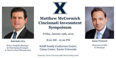 2019 Matthew McCormick Cincinnati Investment Symposium