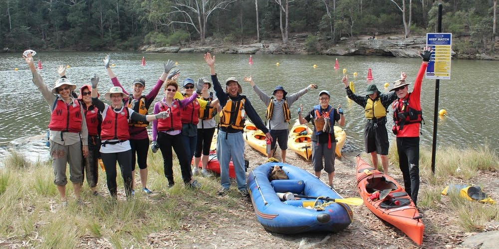 Kayaking Bushcare Volunteer Workday at Lake Parramatta - 27 October