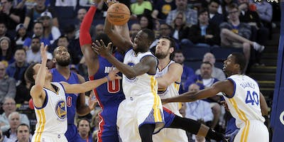 Pistons at Warriors Game March 24