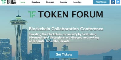 Blockchain Conference - Token Forum May 16, 2018