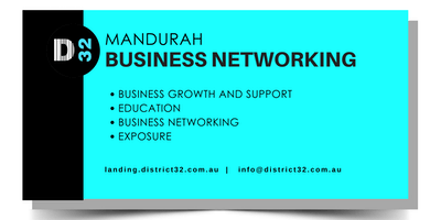 District32 Business Networking Perth – Mandurah - Fri 23rd Nov