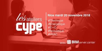 [Nice] Les Ateliers CYPE : Thermique / Energétique / E+C- / Acoustique / HVAC