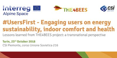 #UsersFirst Engaging users on energy sustainability, indoor comfort & health