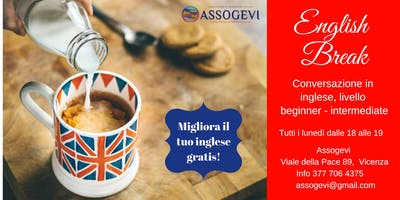 English Break: conversazione in inglese gratuita