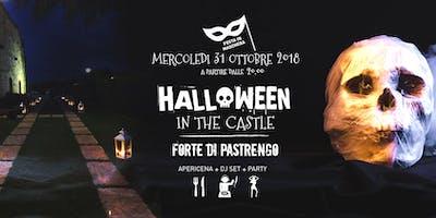 Mercoledì 31 Ottobre 2018 - Party in the Castle - Forte austriaco - Lago di Garda (VR)