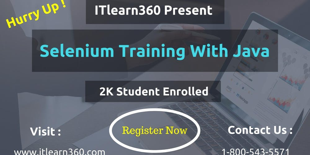 Selenium Training With Java Itlearn360 Tickets Tue Oct 9 2018