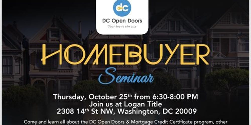 Invest In Dc Real Estate Today Tickets Thu Oct 25 2018 At 630