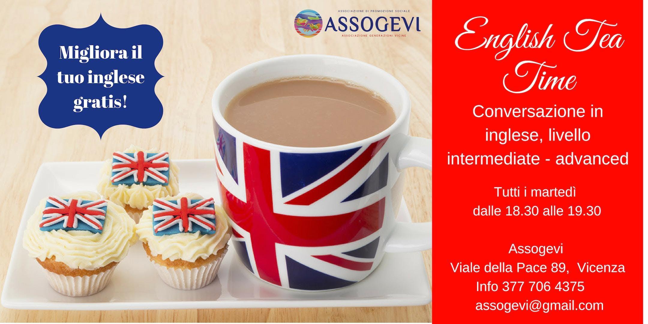English Tea Time: conversazione in inglese a