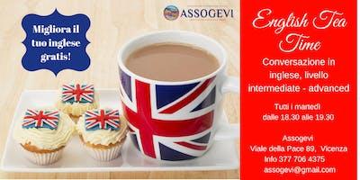 English Tea Time: conversazione in inglese a Vicenza