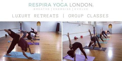 Fridays 10.30am Yoga Stress-Melt with Respira Yoga