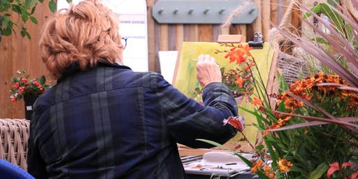 Painting Autumn Flowers With Fran Hinton