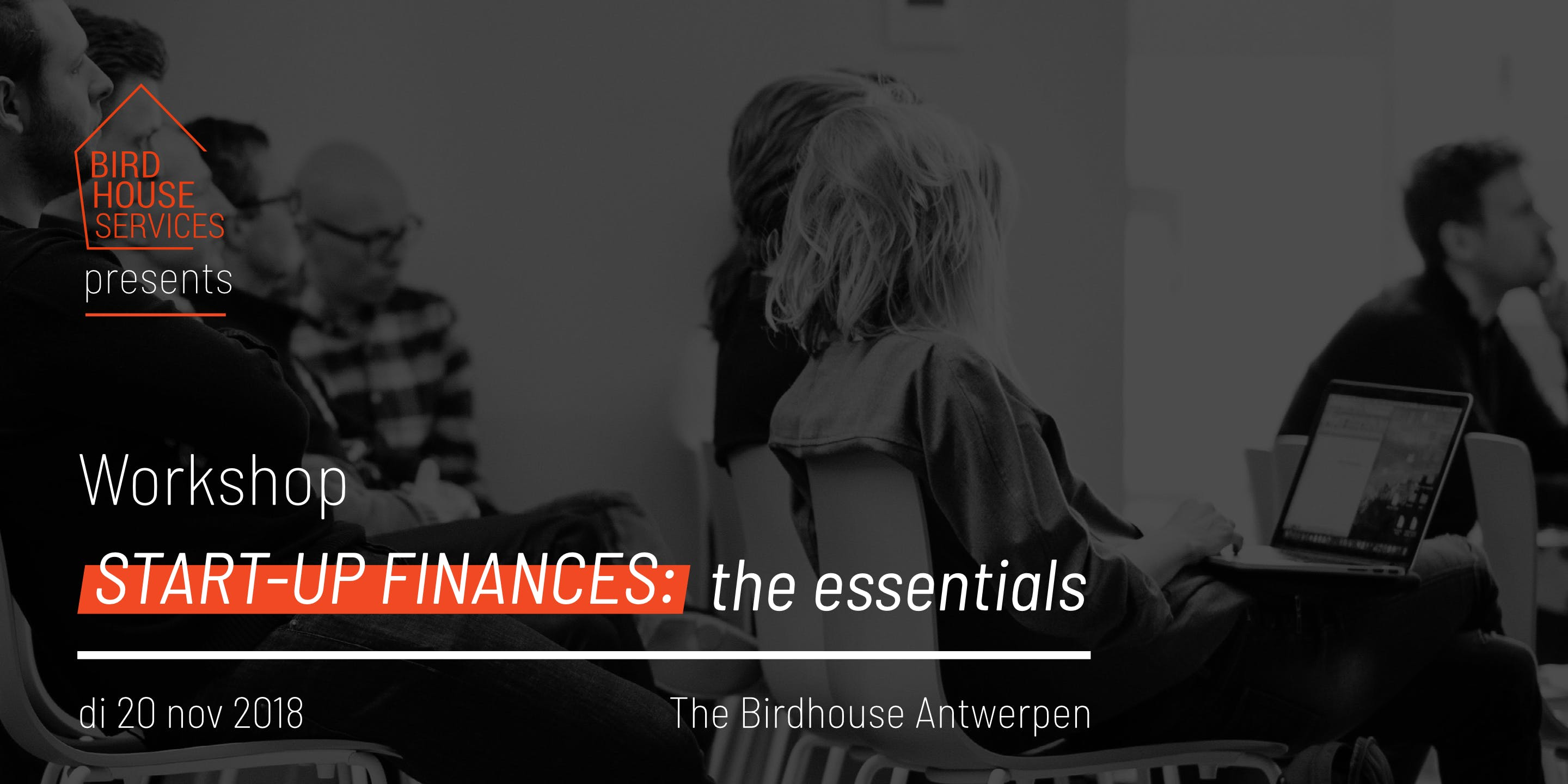 Start-up Finances: The Essentials Antwerpen