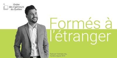 Soirée d'information pour les professionnels formés à l'étranger : comment obtenir le permis d'ingénieur au Québec - Montréal