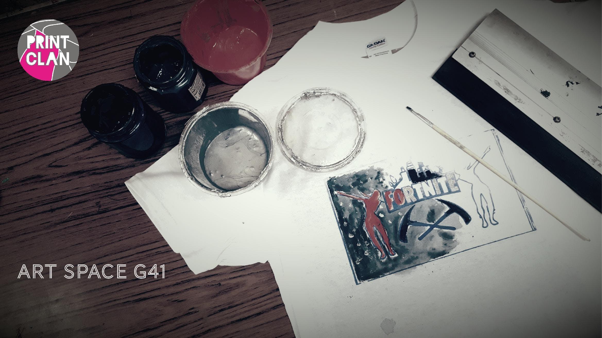 October Week Kids T-shirt Printing Workshop!