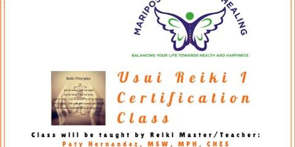 Usui Reiki I Certification Class Tickets, Sun, Nov 18, 2018 at 12:30 ...