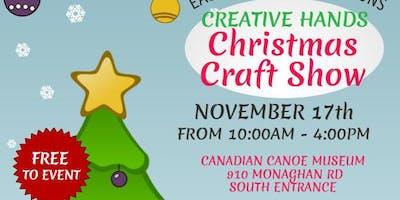 CREATIVE HANDS CHRISTMAS CRAFT & ARTISAN SHOW