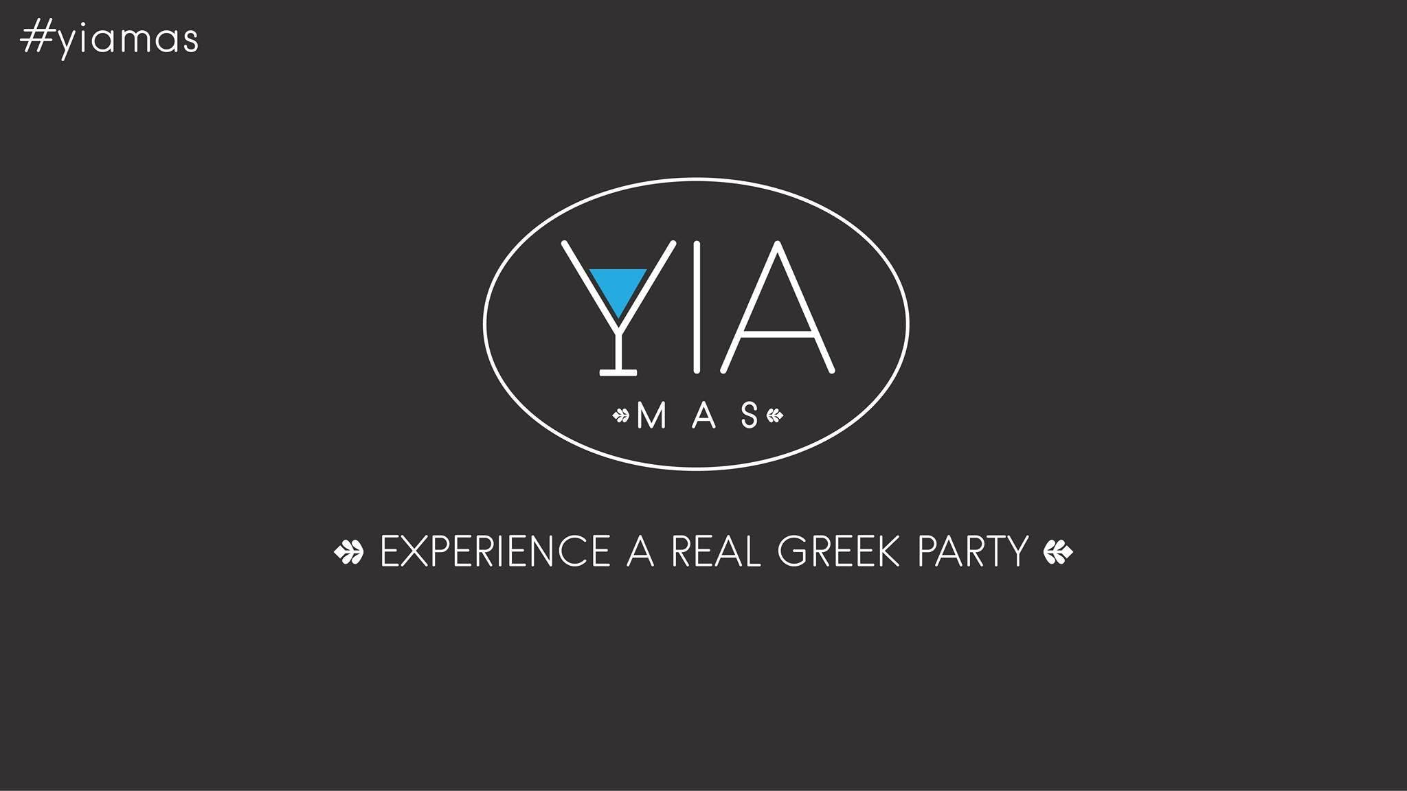 Yia Mas Greek Parties - No32 - Ouzo Μπερδέματ
